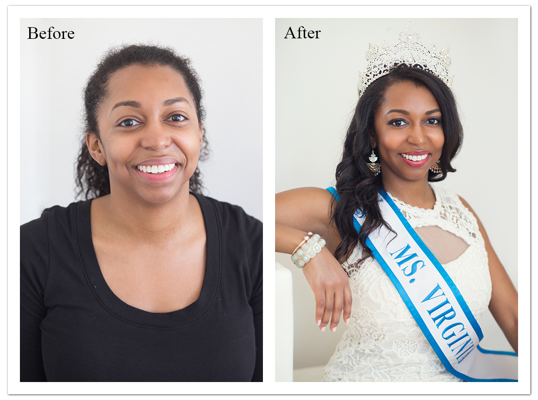 Lisa Damico Portraits │DC Arlington Alexandria Northern Virginia Headshot Photographer Beauty Pageant Contestant