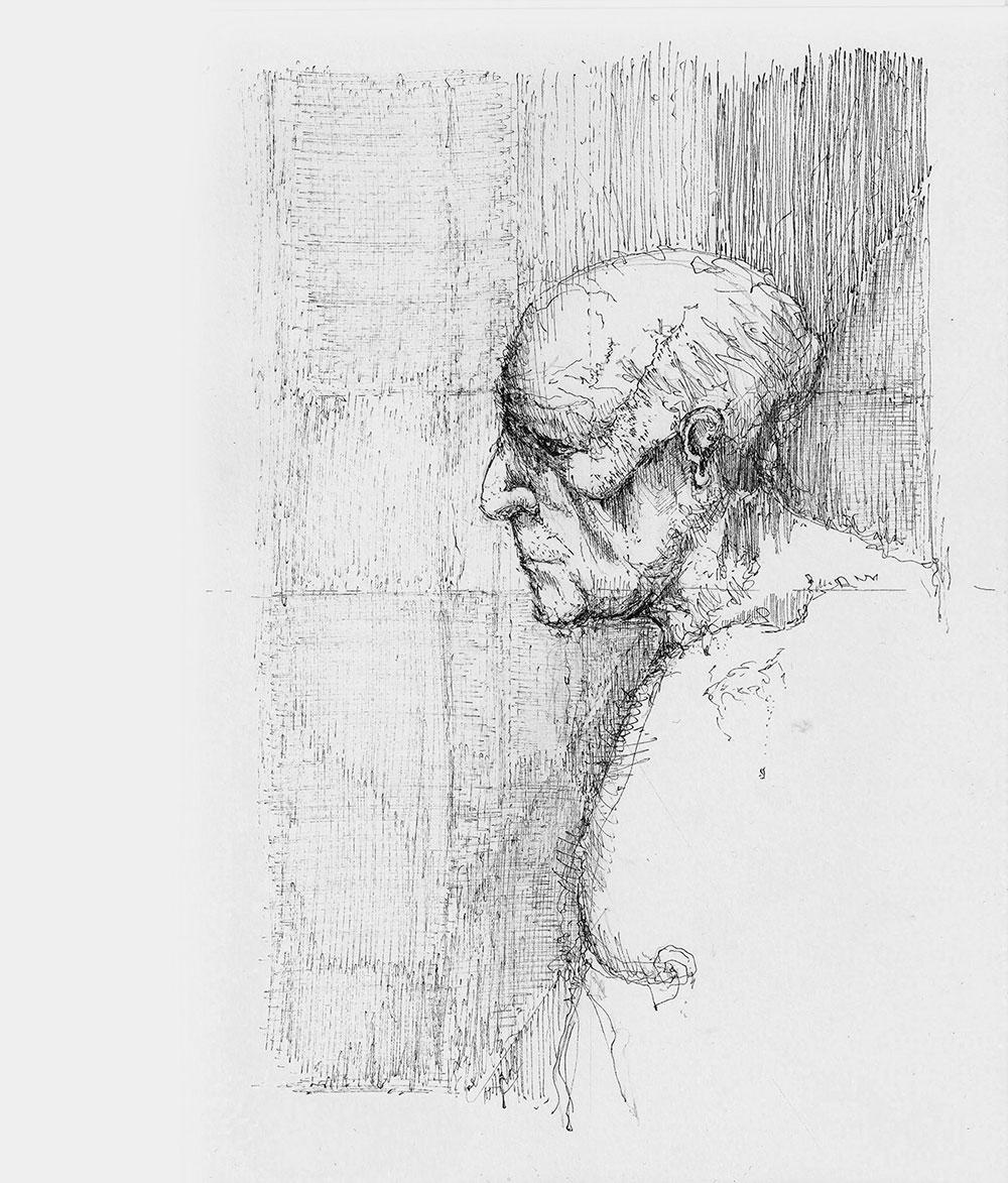 Ending Aging_Book_Aubrey de Grey_Atelier Crilo_Sketch.jpg
