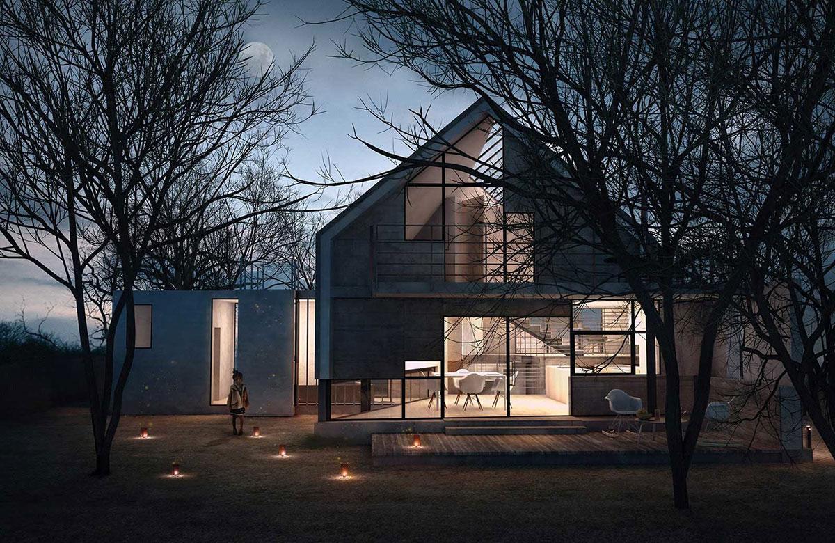 V-House , single family house, 2014