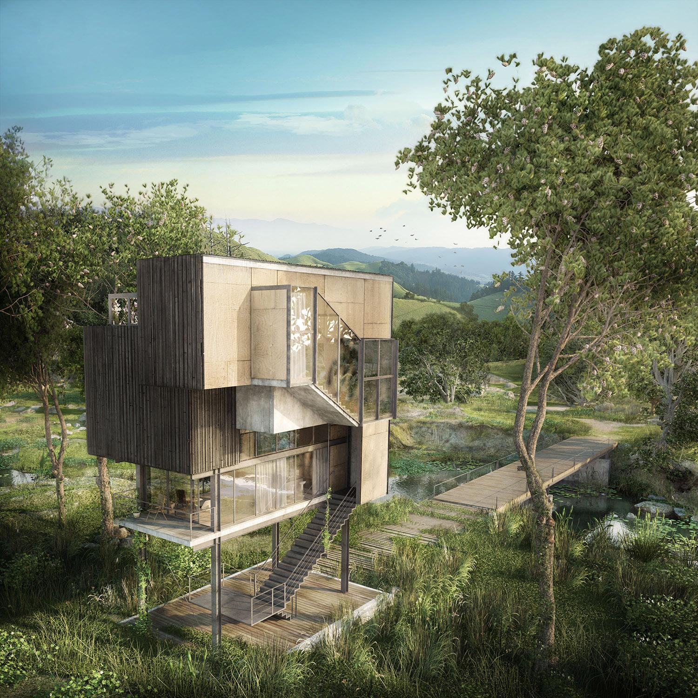 Atelier Crilo,  Oteiza House
