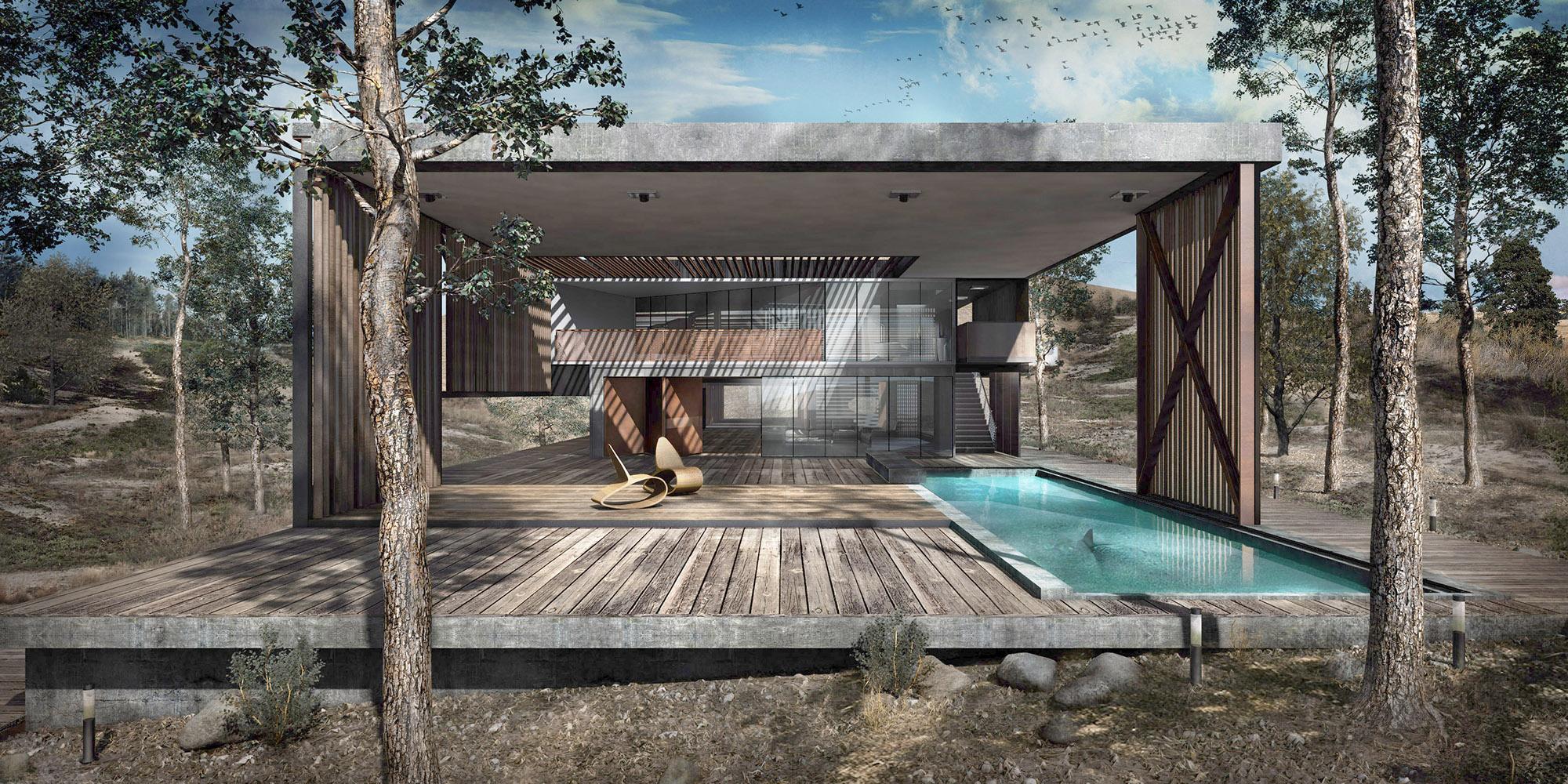 Atelier Crilo,  Mo-Nei House
