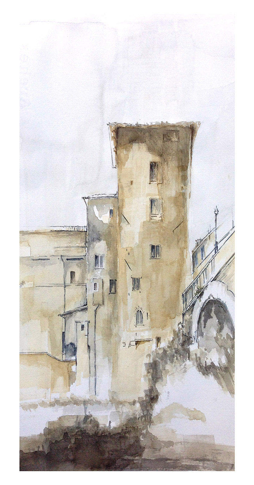 Torre isola Tiberina_Roma_Lungotevere_ateliercrilo.com.jpg