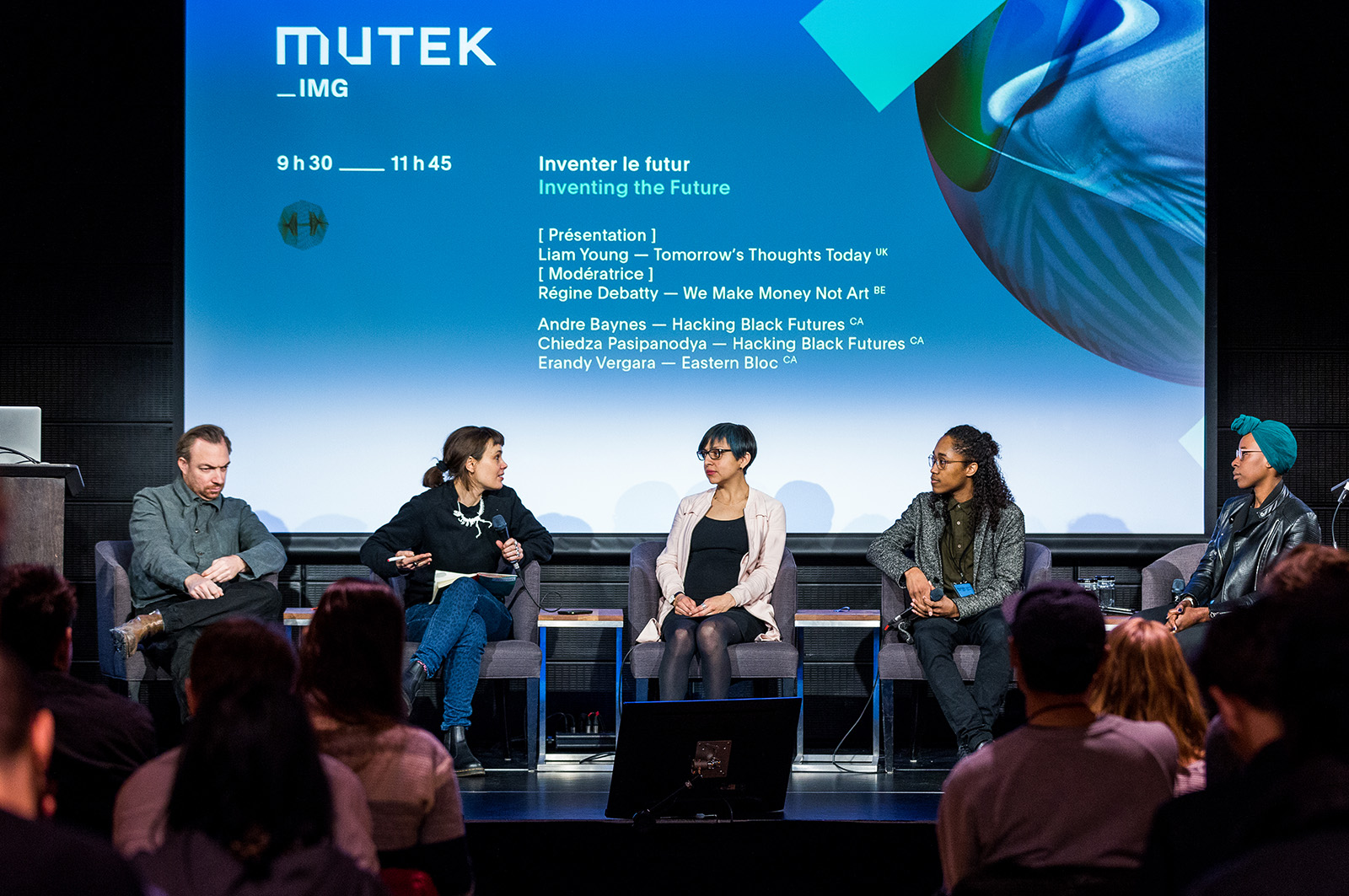 Mutek IMG Festival 2018 - Inventing the future presentation and panel