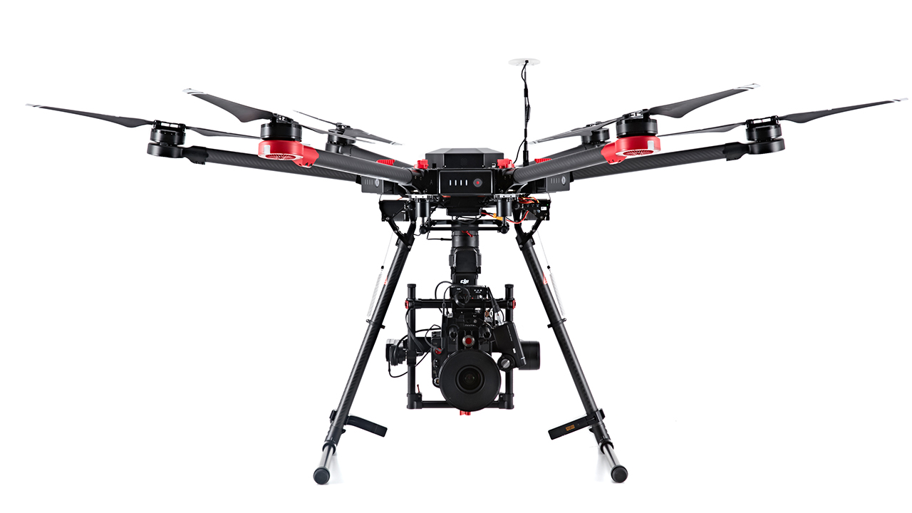 M600 Pro - The M600 Pro flying platform is designed for professional aerial photography and industrial applications. We use it to hold the RED scarlet to get the best possible aerial cinematography.