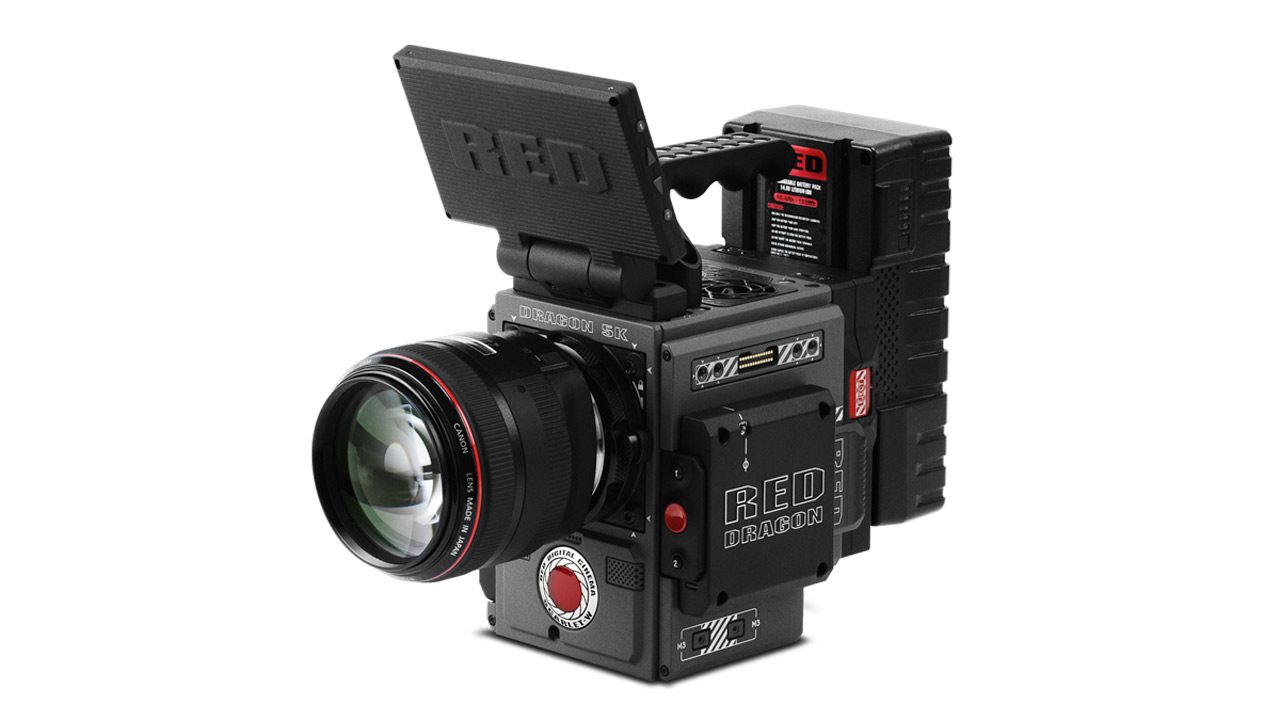 RED Scarlet - We have the ability to put this RED scarlet on a drone. Designed for cinema video production, shooting in 5K the RED SCARLET cinema camera features the DRAGON 5K Super 35 CMOS sensor and REDCODE RAW imaging pipeline.