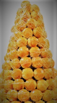 French Wedding Cake Croquembouche