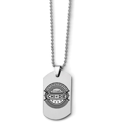 This Dog Tag necklace is also a 32GB Flash Drive so DJs can always have music ready to go if an impromptu set happens to pop up.