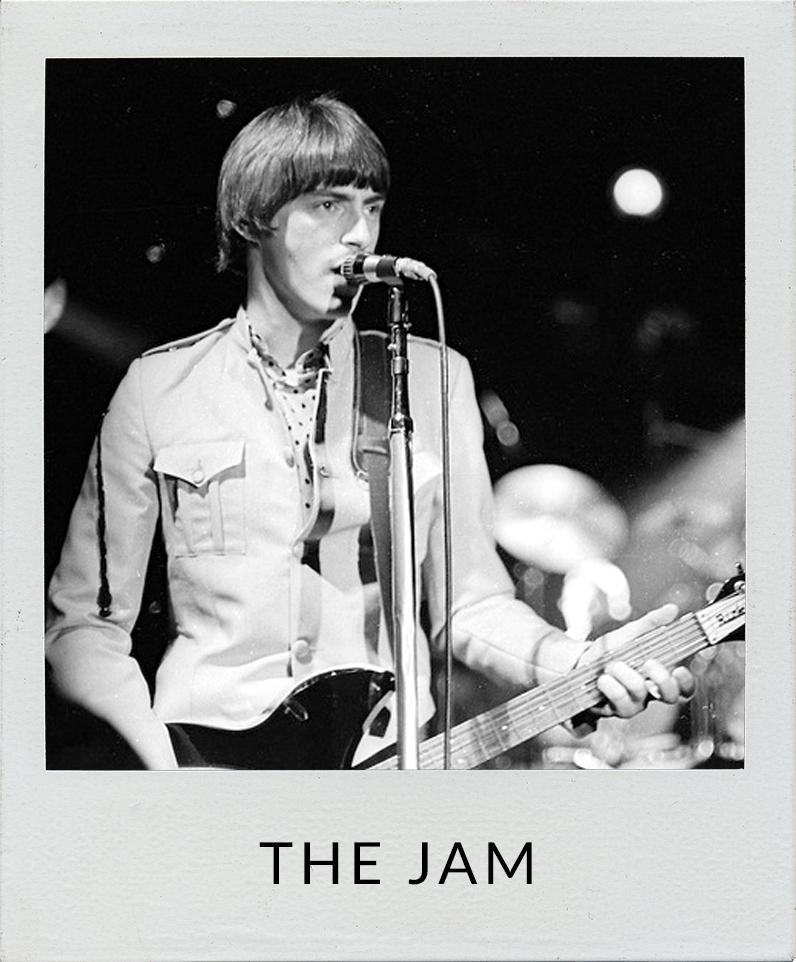 The Jam Paul Weller photos