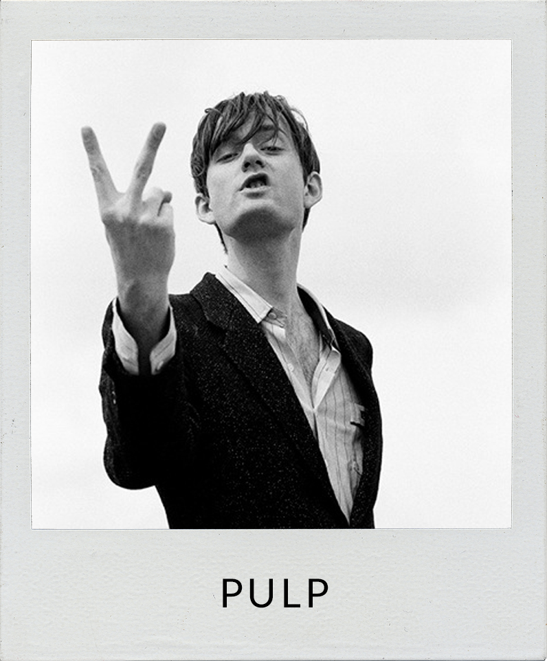 Photos of Jarvis Cocker from Pulp