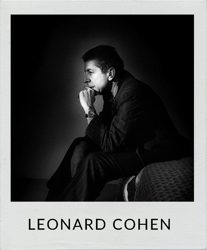 Leonard Cohen photos