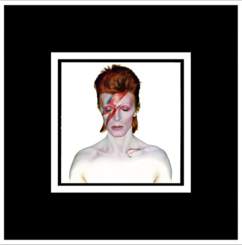 David Bowie Aladdin Sane Cover By Duffy Buy Signed Limited Edition Prints