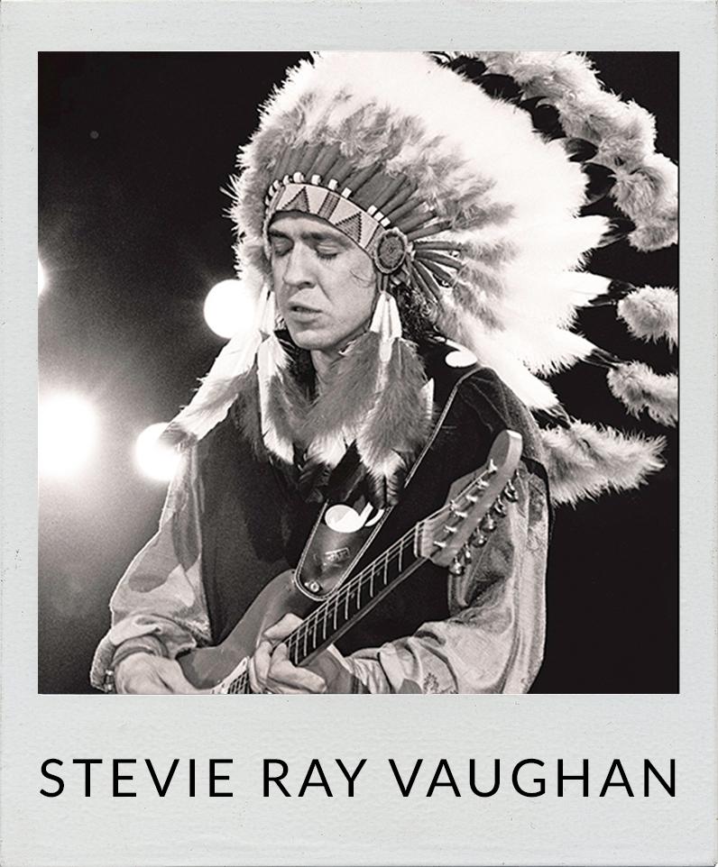 Stevie Ray Vaughan photos