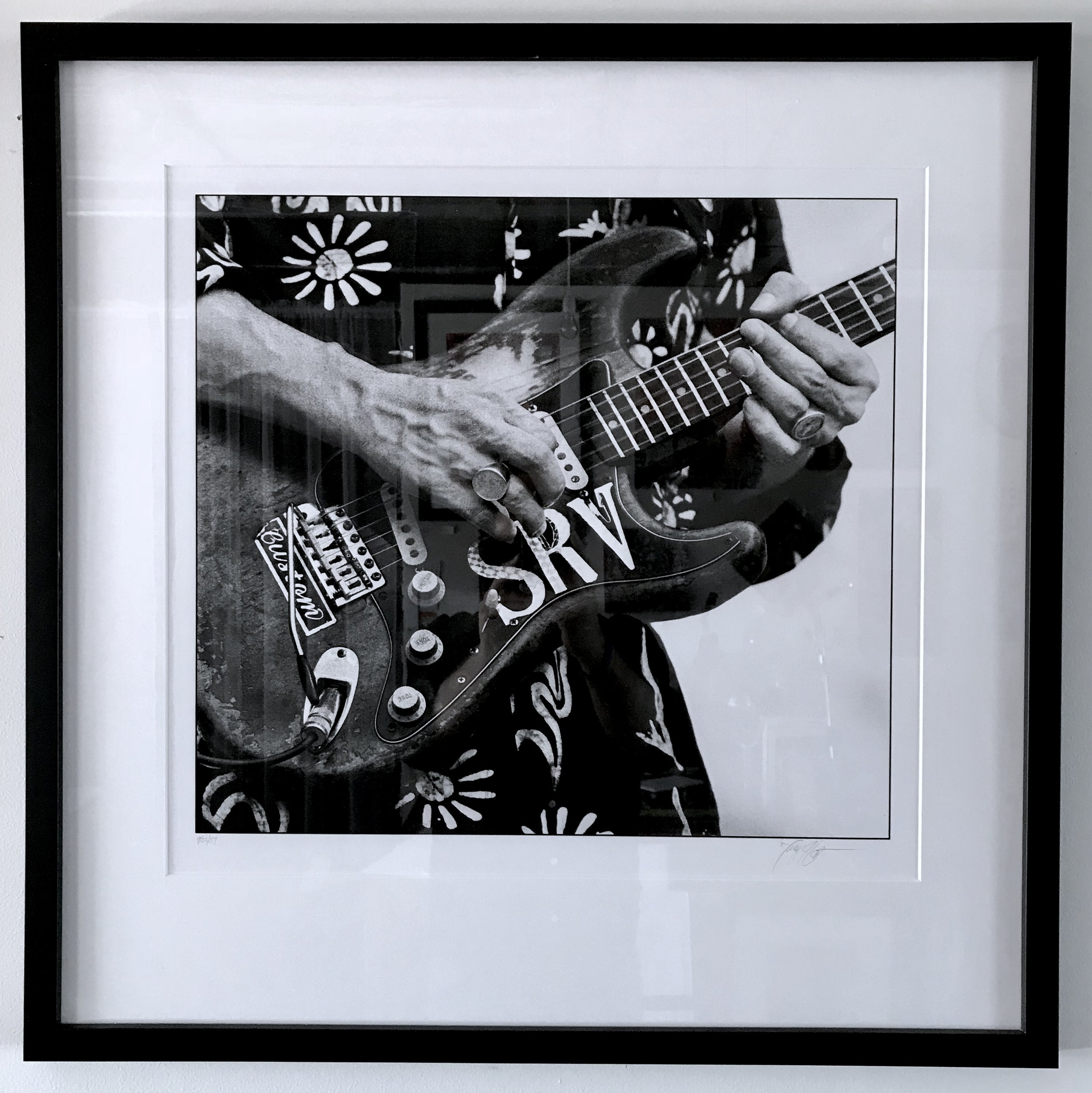 Stevie Ray Vaughan by Tracy Anne Hart