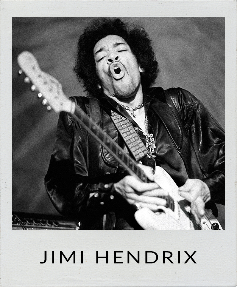 Jimi Hendrix photographs
