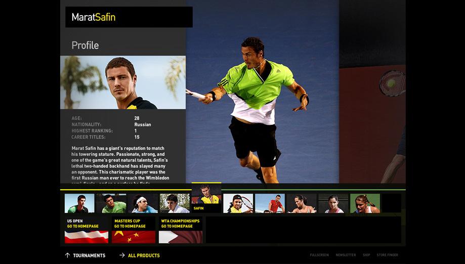safin - player profile