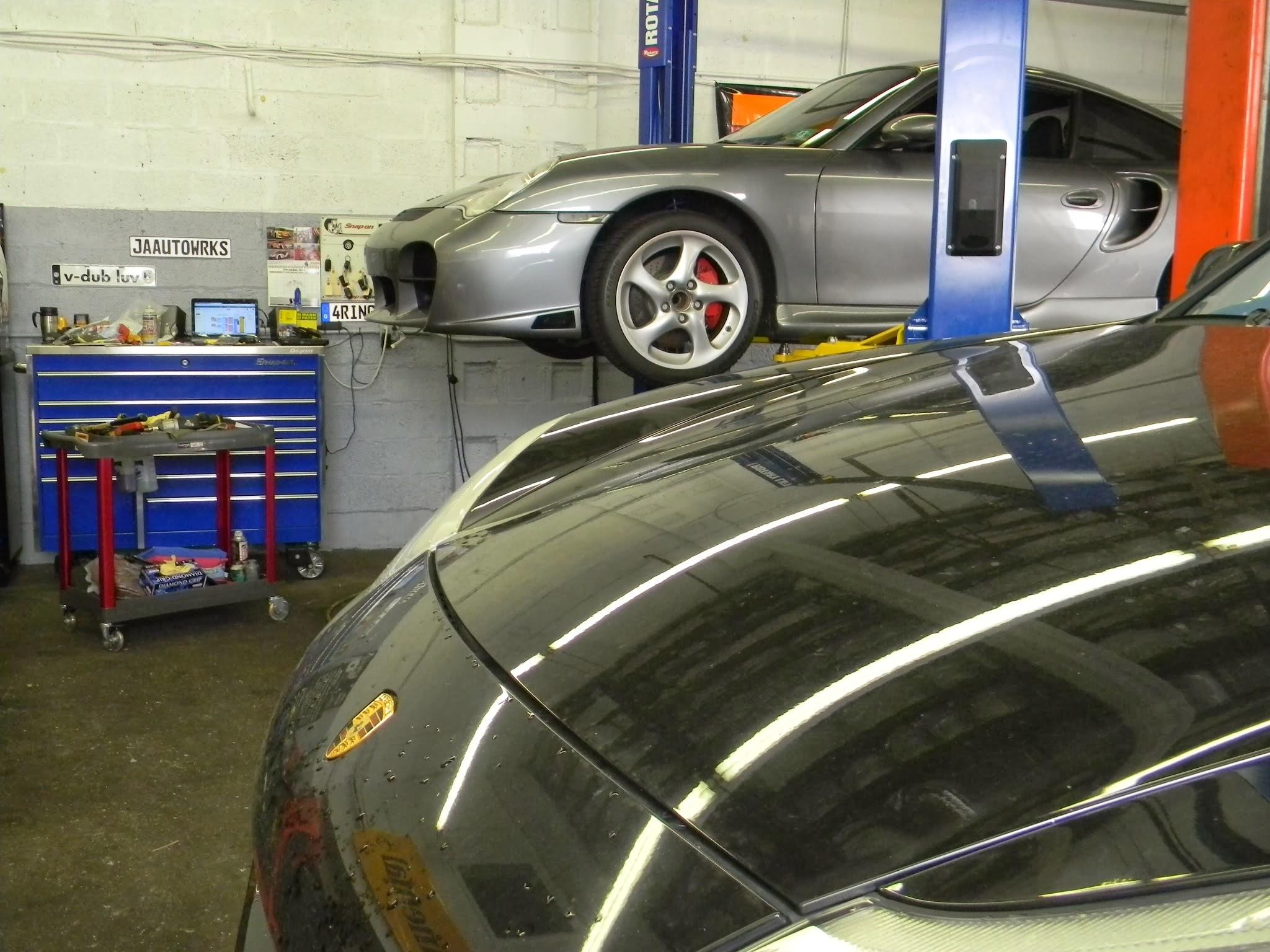 Porsche repair at JA Autowerks