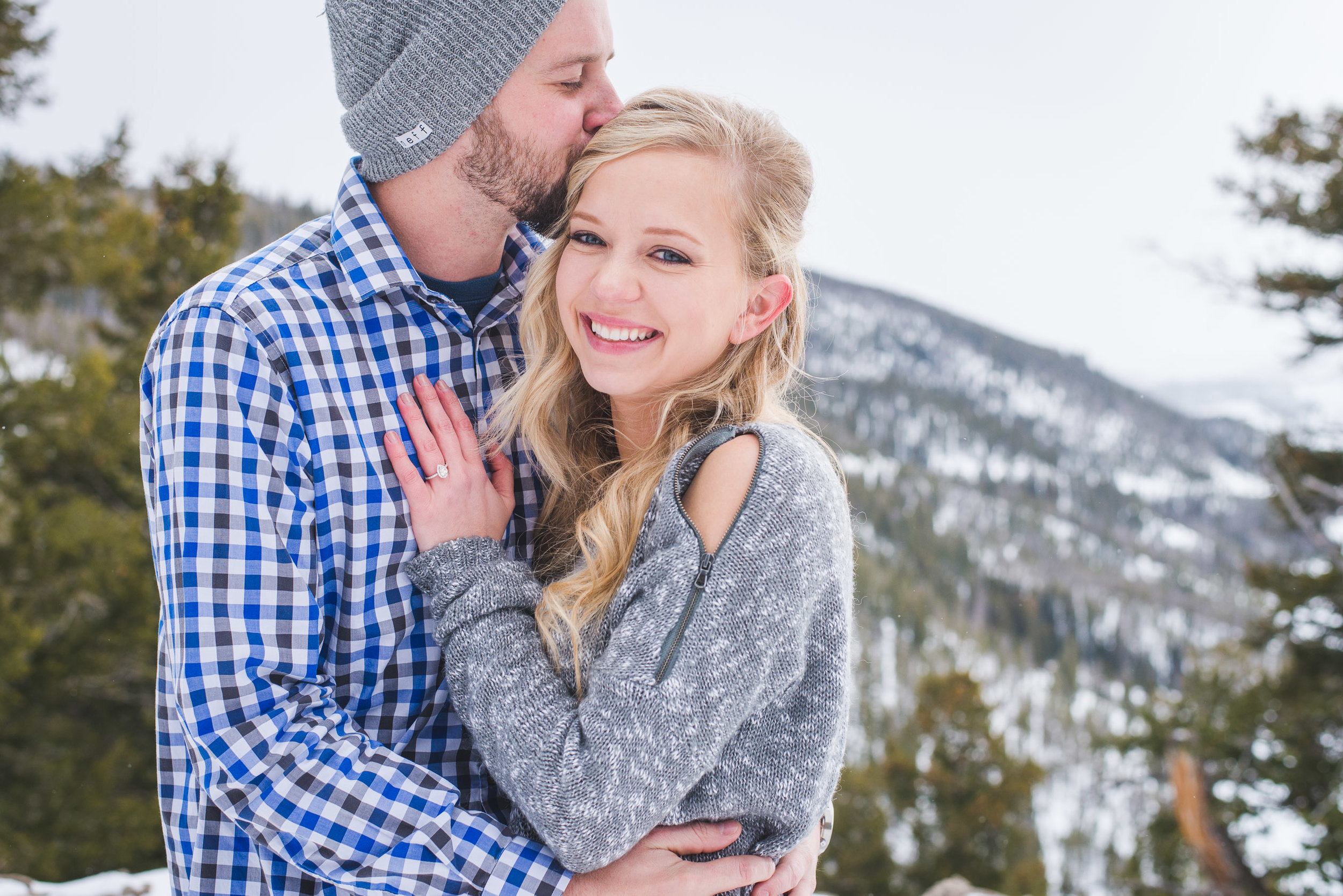 Family portraits and a proposal shoot in the Colorado mountains | Hair + Makeup for portrait sessions | Keeping Composure Photography