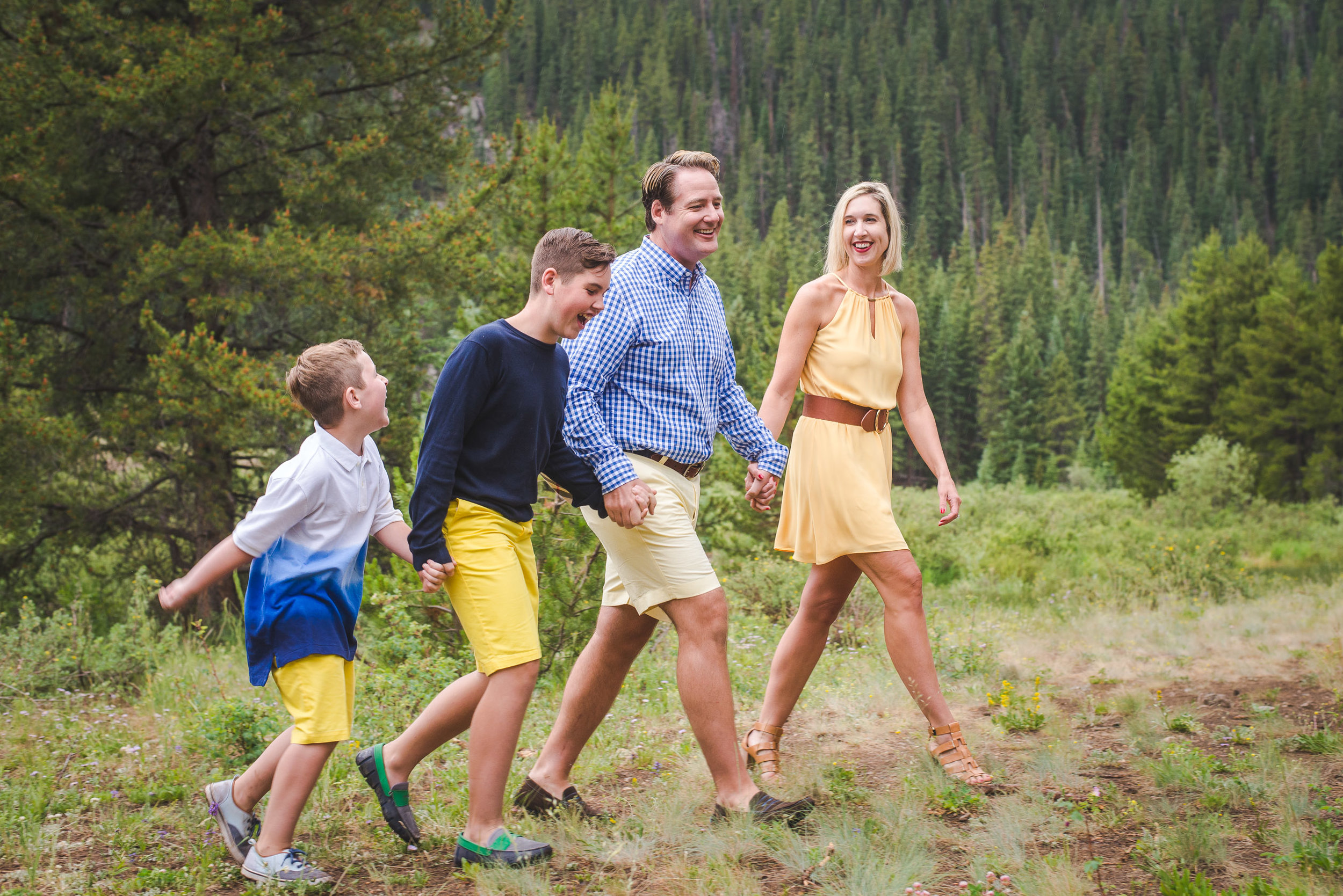 Keystone, Colorado summer family portraits | Keeping Composure Photography