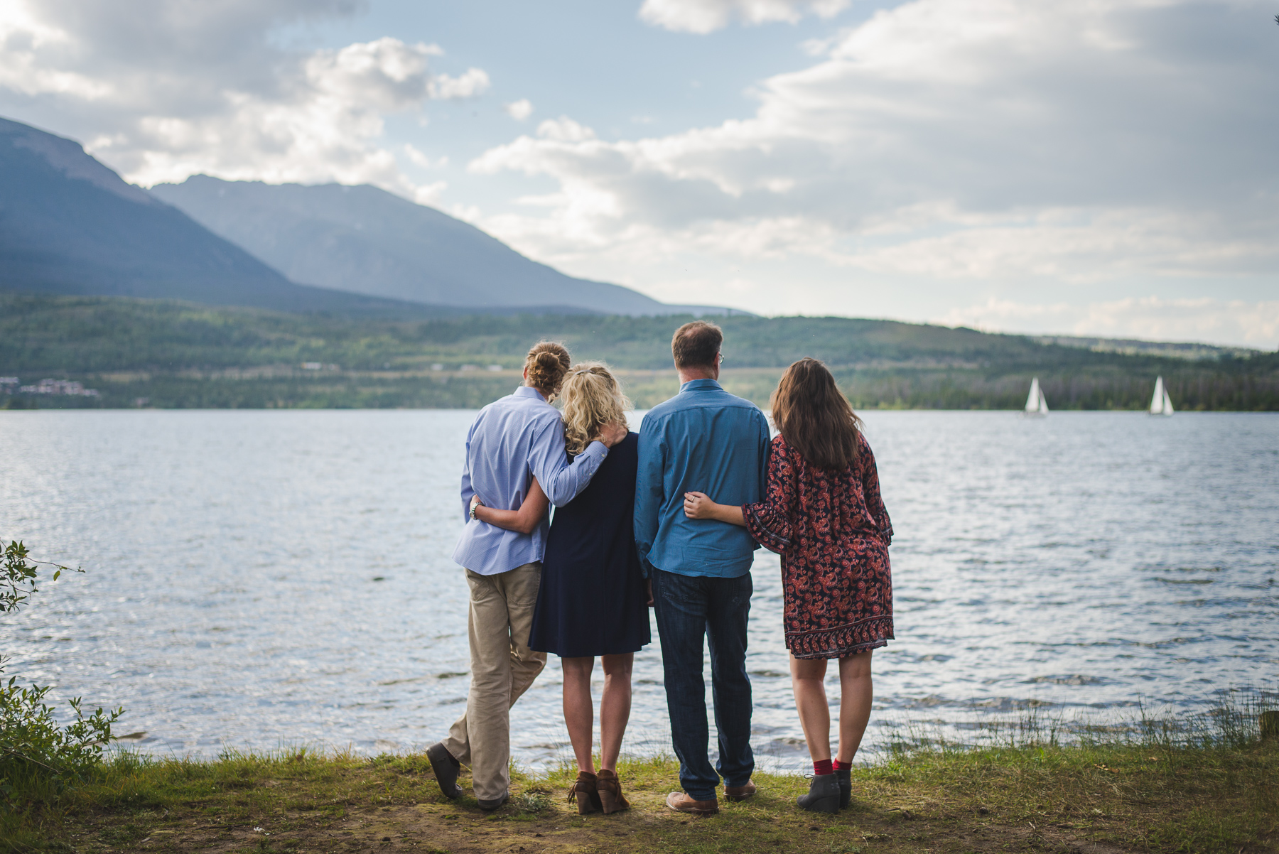 Summer at the Lake: Frisco Family Portraits by Keeping Composure Photography, a Colorado Rocky Mountain photographer