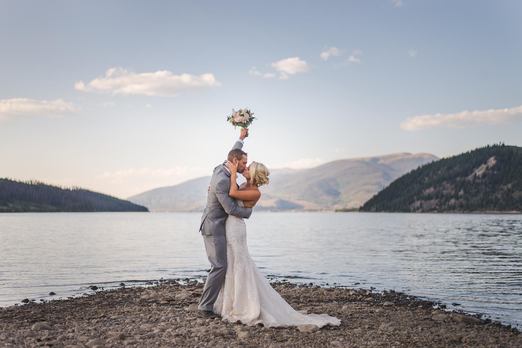 labor day weekend wedding near lake dillon and breckenridge, colorado | keeping composure photography + summit mountain weddings