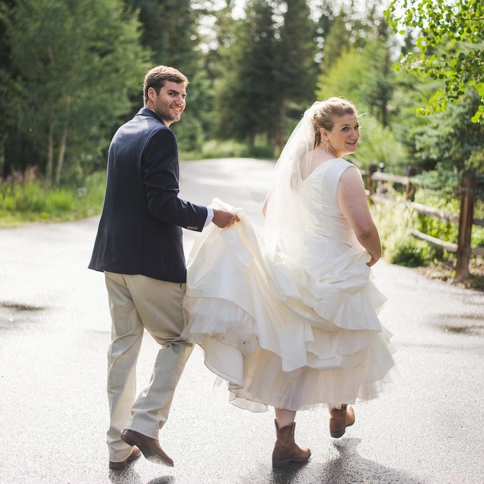 copper mountain summer wedding colorado