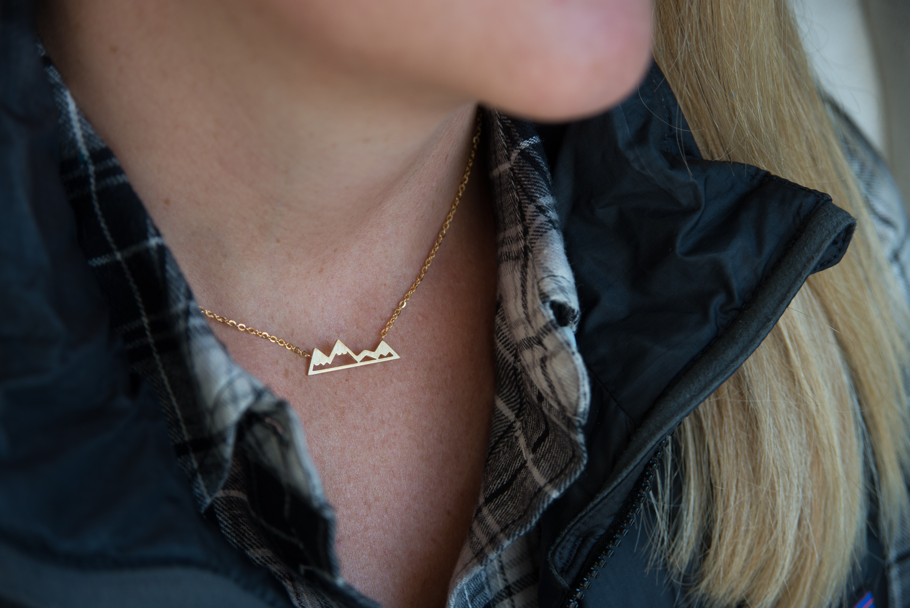 like a mountain girl necklace