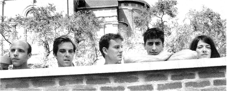 Ottawa's art-punk mavericks Wooden Stars with Julie Doiron, circa 1999.