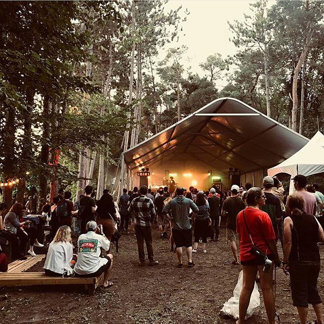 WHAT TO SAY? To begin, endless gratitude to our spectacular artists, our hardworking vendors, our amazing volunteers, and every single person who came out this weekend to actualize Bon-Fire 2018.  Extra special thanks to @rideaupinesfarm for their unceasing hospitality - visit them often and tell them you love them. 📸 by @tikvah343  #ottawa #ottmusic #myottawa #musicfestival #summer #arbfest2018 #bonfire613