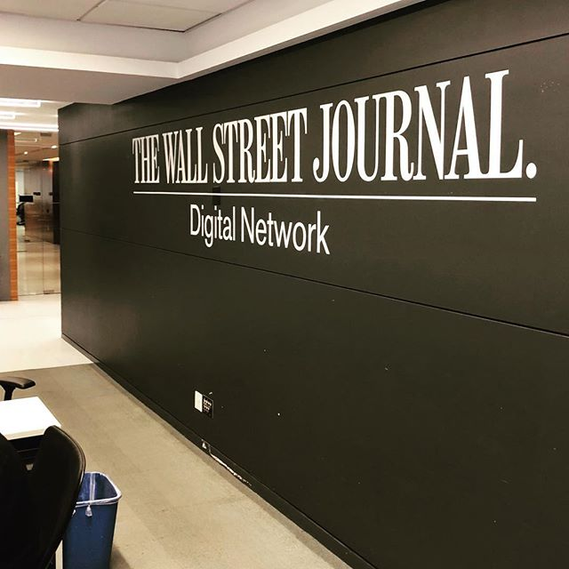 I'm excited to announce that I officially started today as the Executive Producer of Originals @wsj