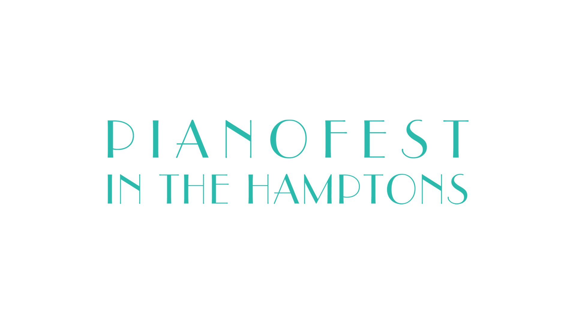 Pianofest in the Hamptons