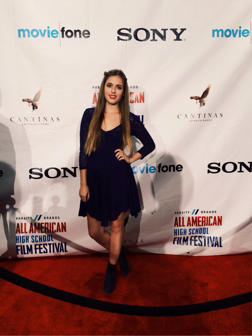"I got nominated for ""Rising Female Star"" and ""Best Cinematography"" at the All American High School Film Festival! What an amazing weekend - I got so meet so many other kids into the exact field as I am as well as meet up with an admissions counselor from UCLA and visit the NYU campus!"