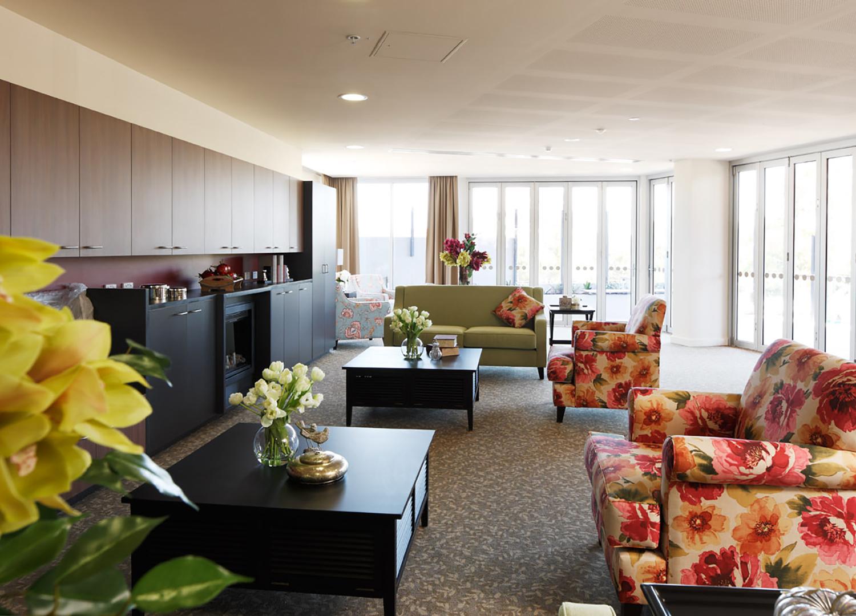 Nursing Home Living Room