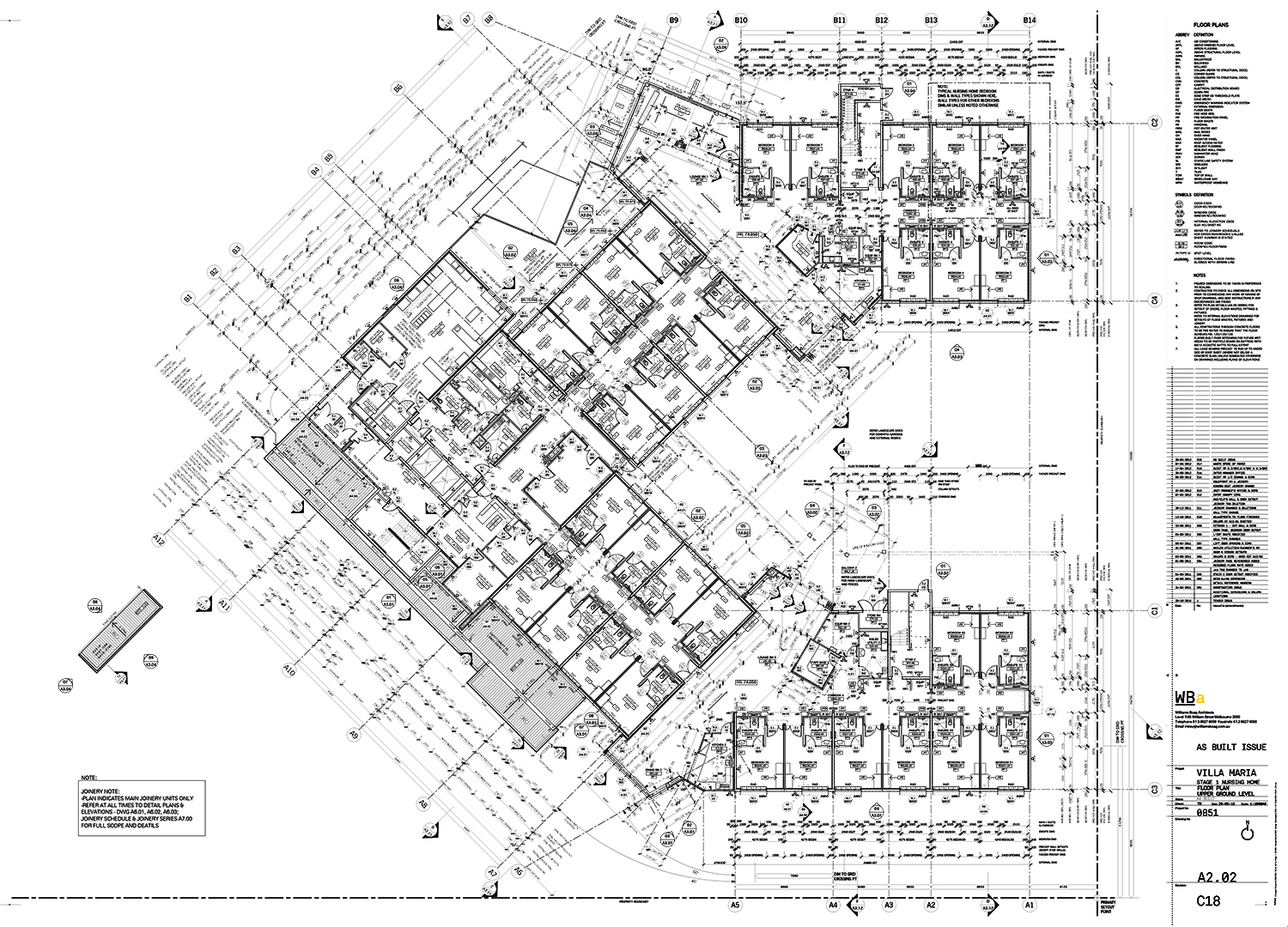 Plan of One Nursing Home Level