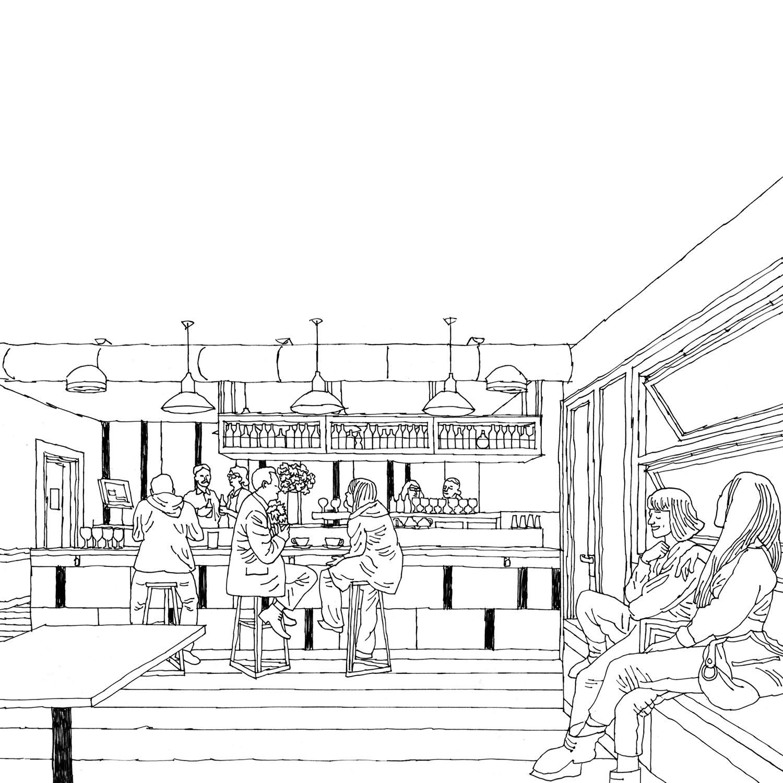 Café Design   freelance architectural design