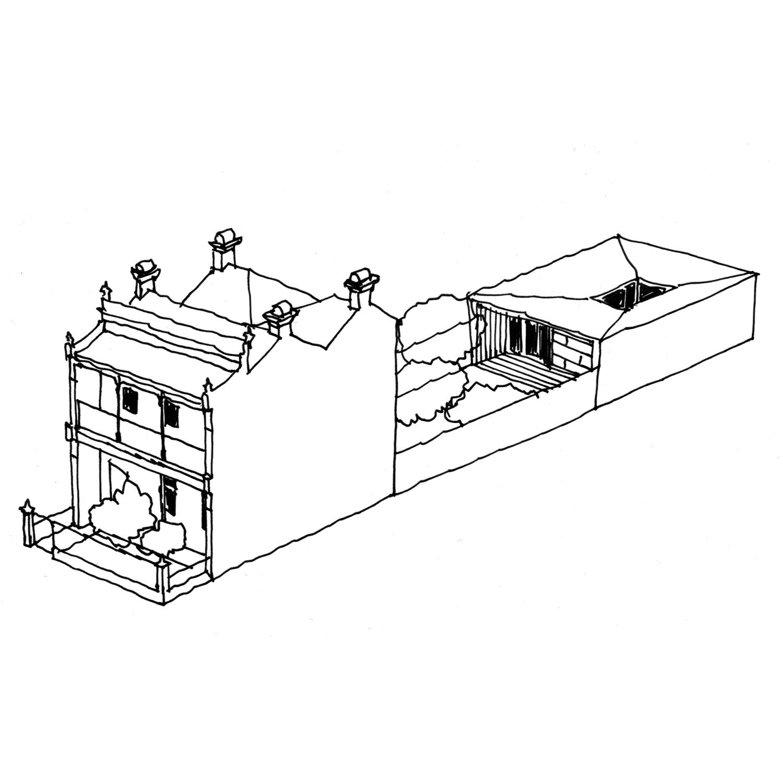Fitzroy House Studio Extension  design concept