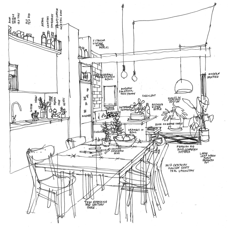 West Melbourne Apartment Building,  design sketches