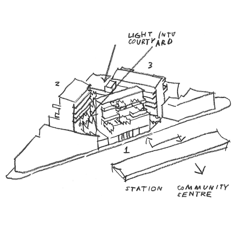 Apartment Concept Sketch