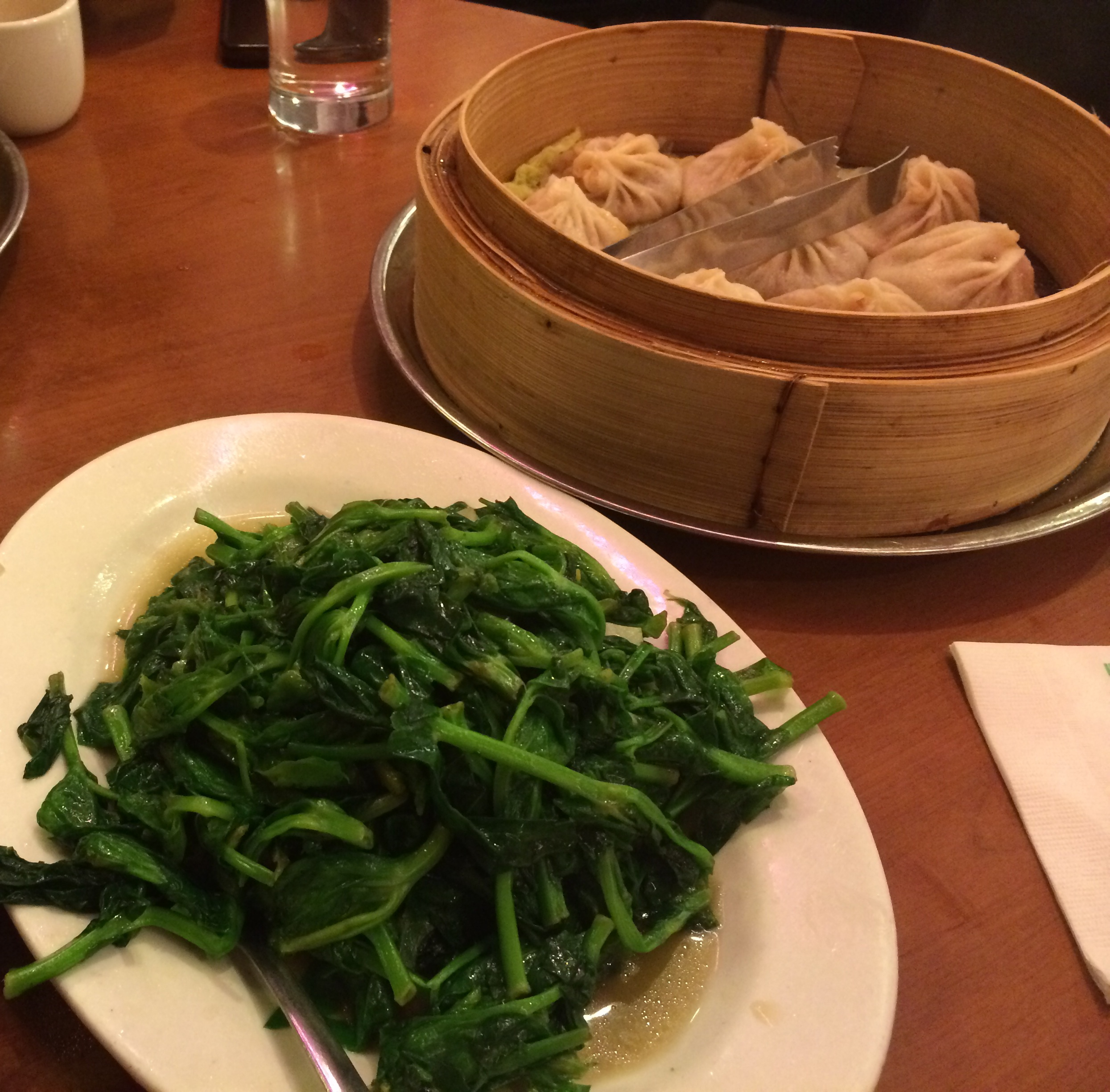 STIR-FRIED SNOW PEA LEAVES