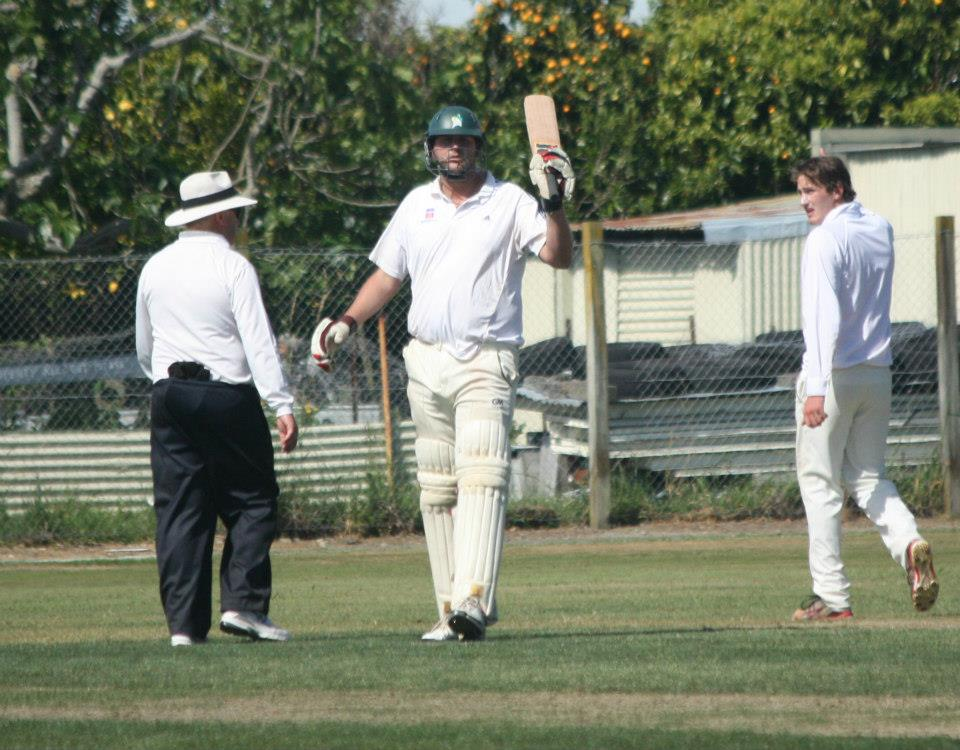 Ewen Thompson: Has played every level of cricket in NZ. Pictured here scoring 111 vs Taranaki.
