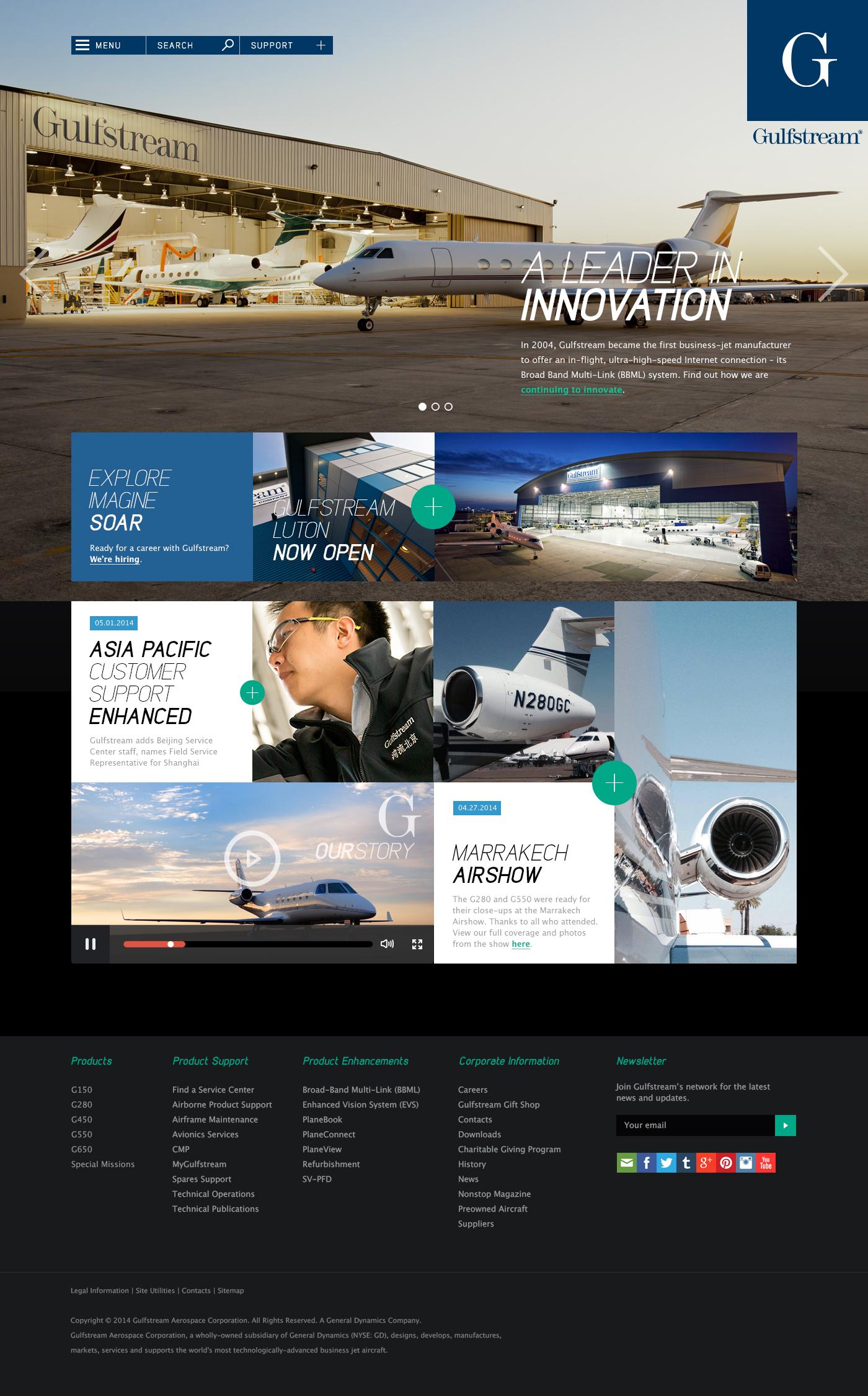 Gulfstream ResponsiveWeb Idea
