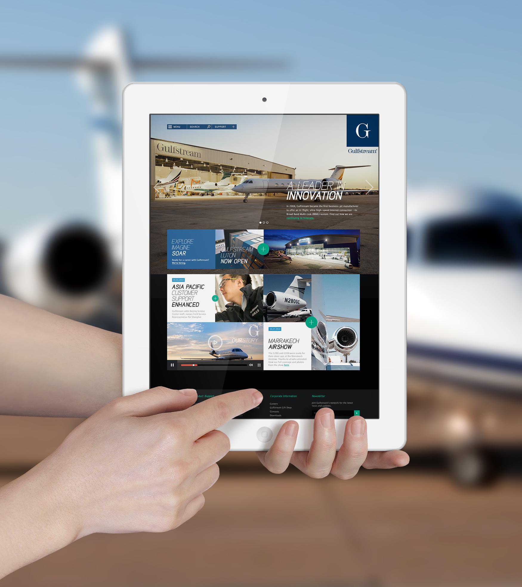 iPad Gulfstream example