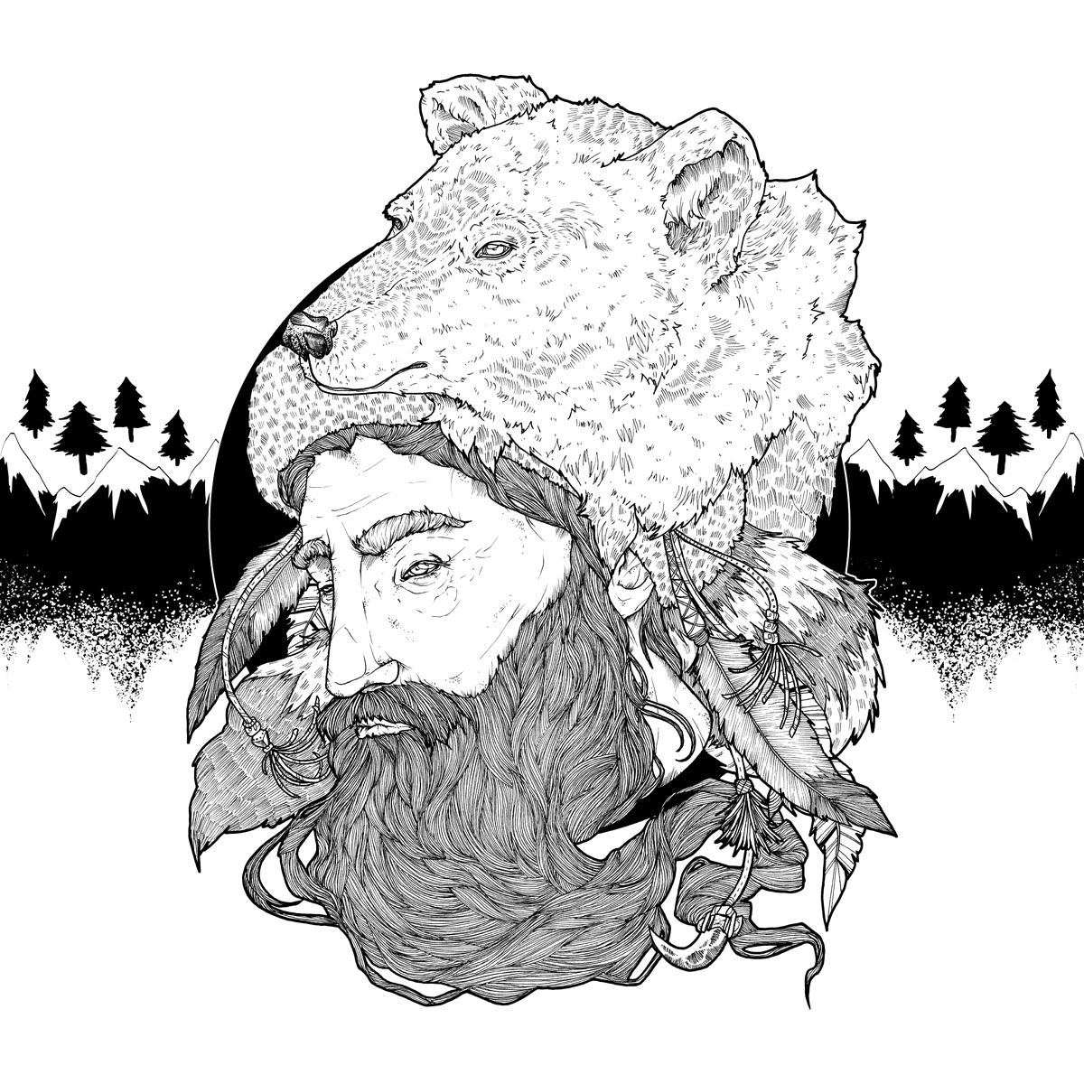album art for folk musician jeremiah tall