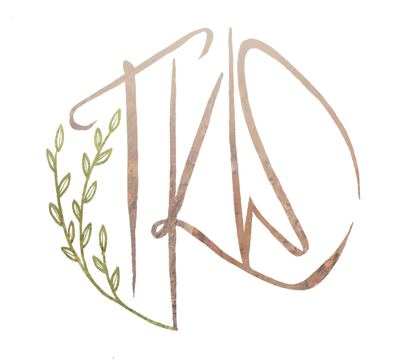 logo art for poet tyler kent white