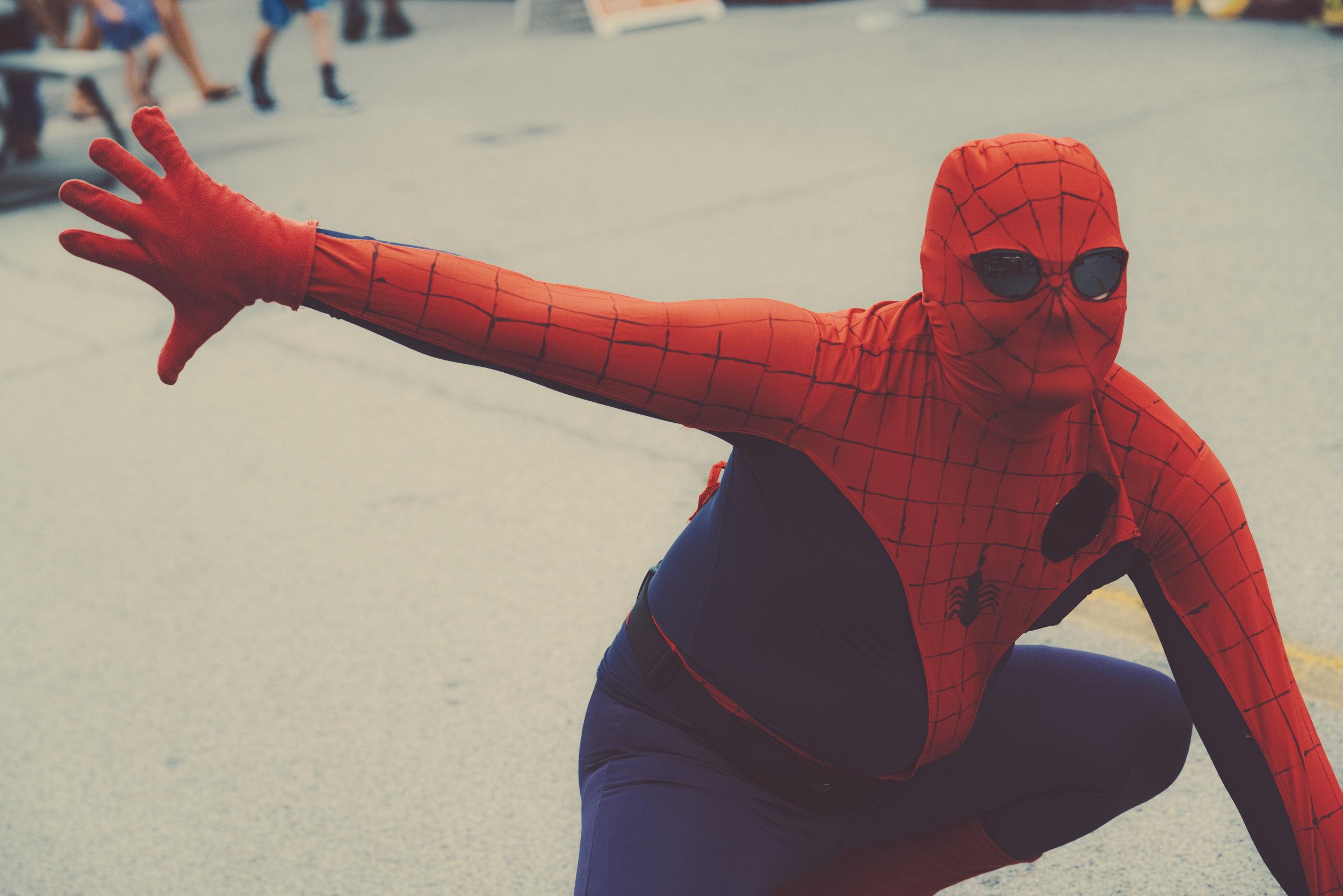 Slingin' some web