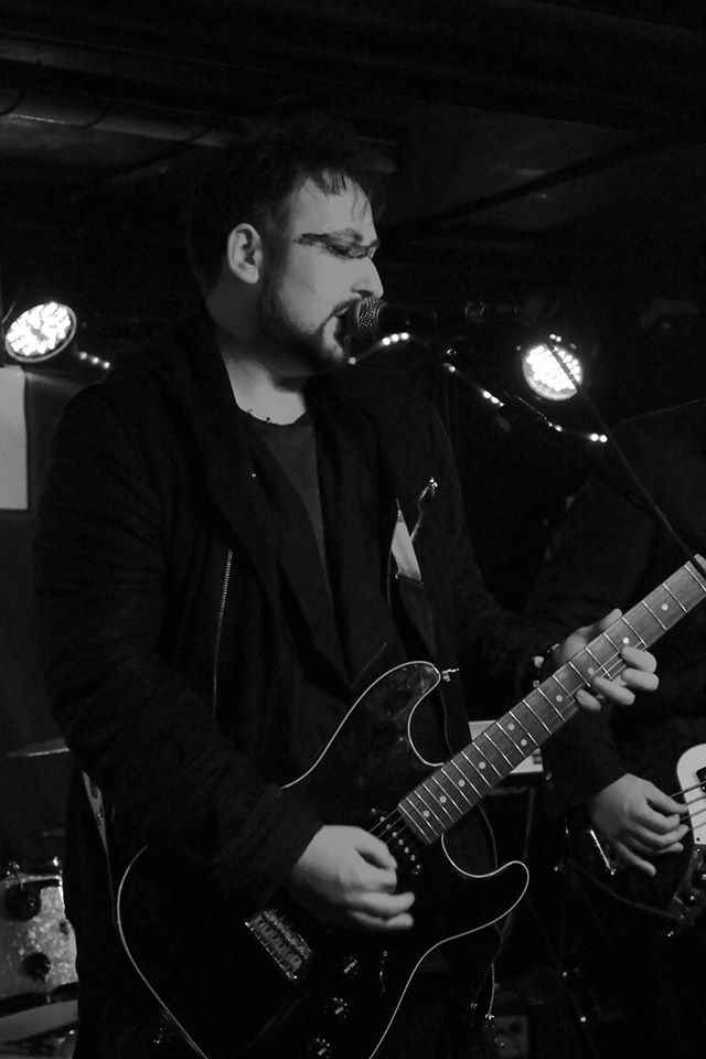 James on stage at The Horn, St. Albans - August 9th, 2014