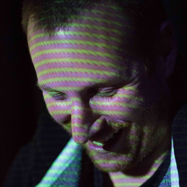 Ben Singleton shot by Pete Bilk at The Live Music Project, Trestle Arts Base, Halloween 2015.