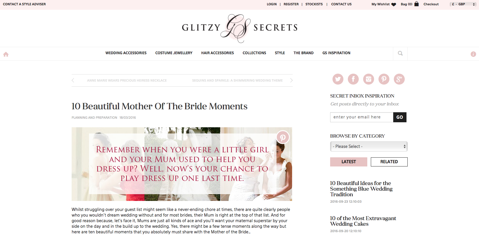 10 Beautiful Mother of the Bride Moments  - by me...