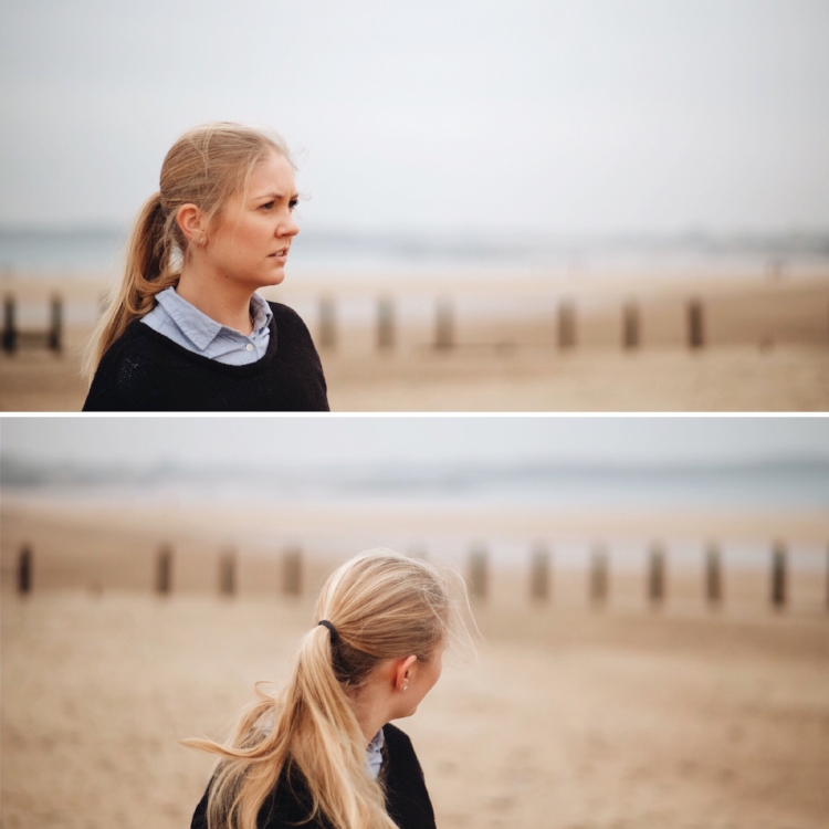 Probably due to the tides and the sands, the beaches held a light that was perfect for trying out some portraits.