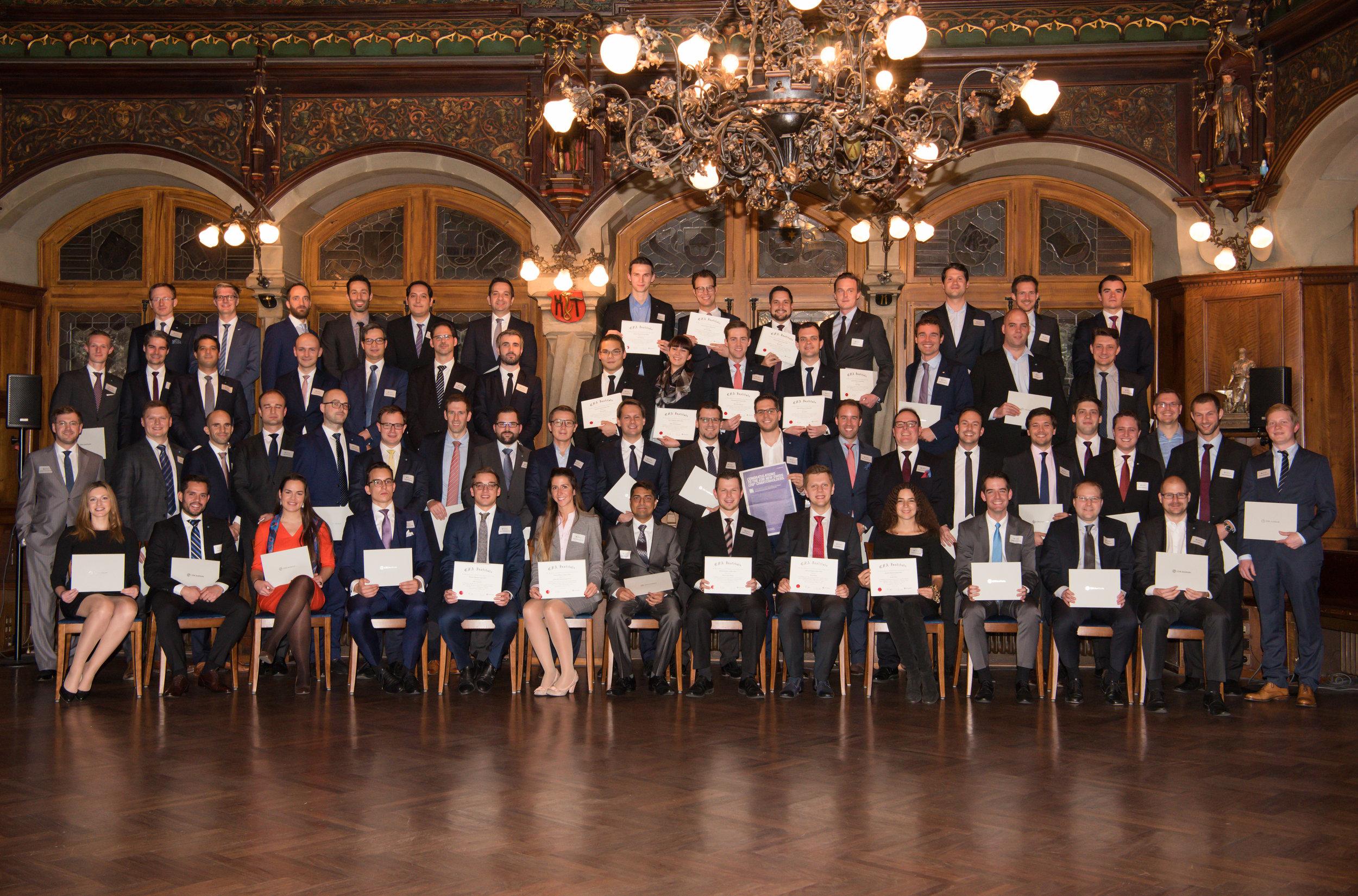 The Zurich Class of 2016