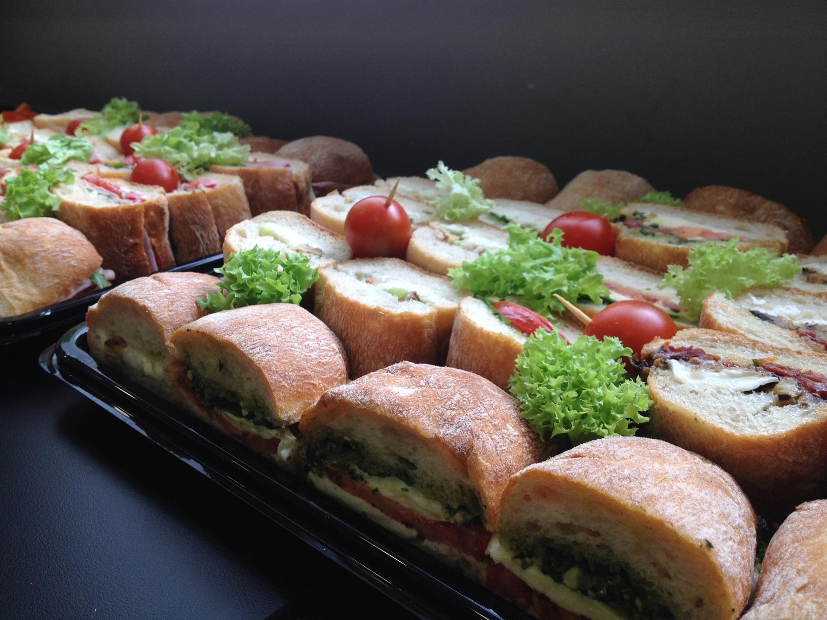 Meat & Veggie ciabatta.